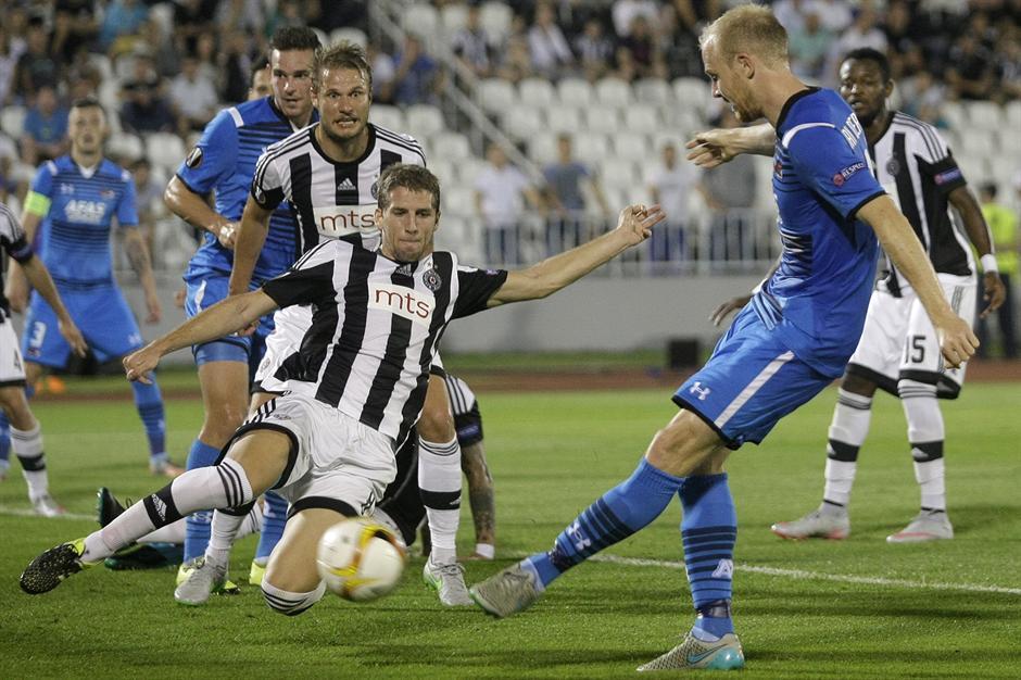 Partizan pobedom otvorio LE