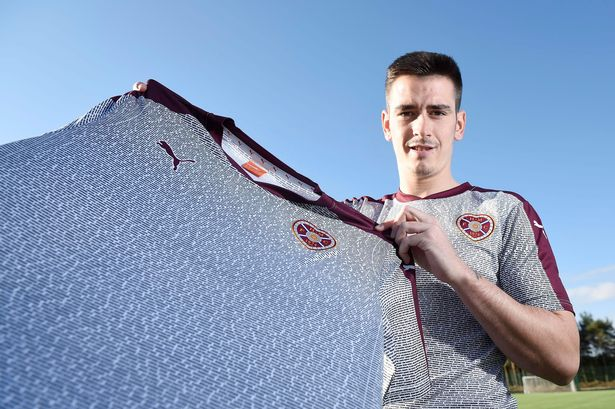 Hearts show thanks with third kit