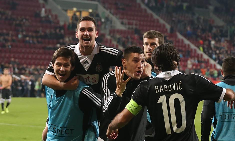 Živković ponovo u milosti, Partizan lider