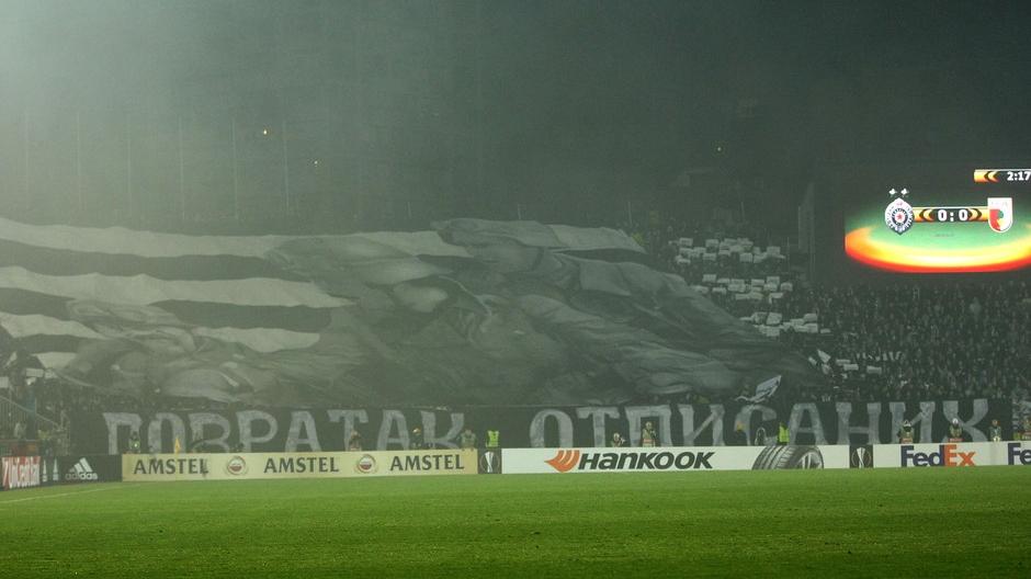 Partizan propustio šansu