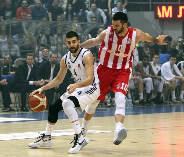 Partizan savladao izgubljenu Zvezdu