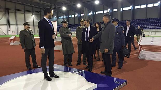 Srbija dobila atletsku dvoranu