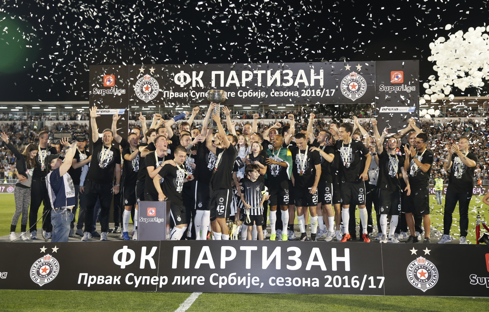 Superliga: Partizan je šampion